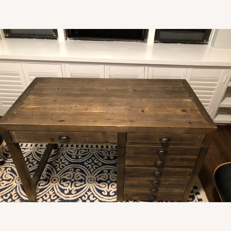Restoration Hardware Printmaker Desk - image-4