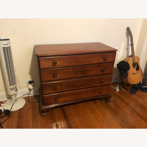 Used Flint and Horner Antique Dresser and Mirror for sale on AptDeco