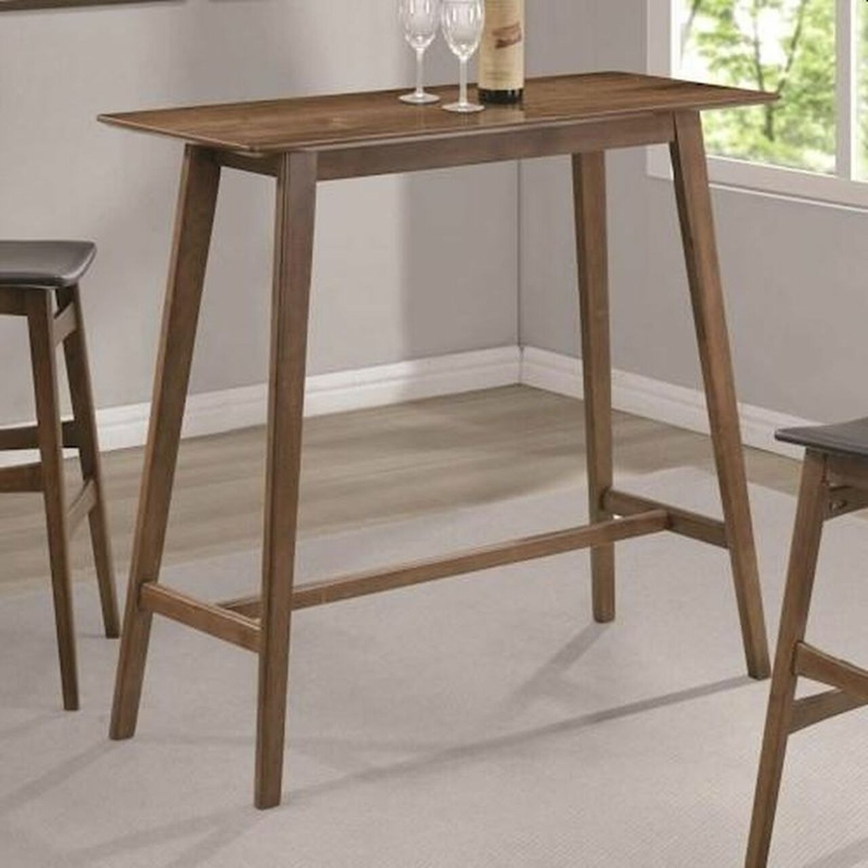 3-Piece Mid-Century Style Bar Table/Stool Set - image-4