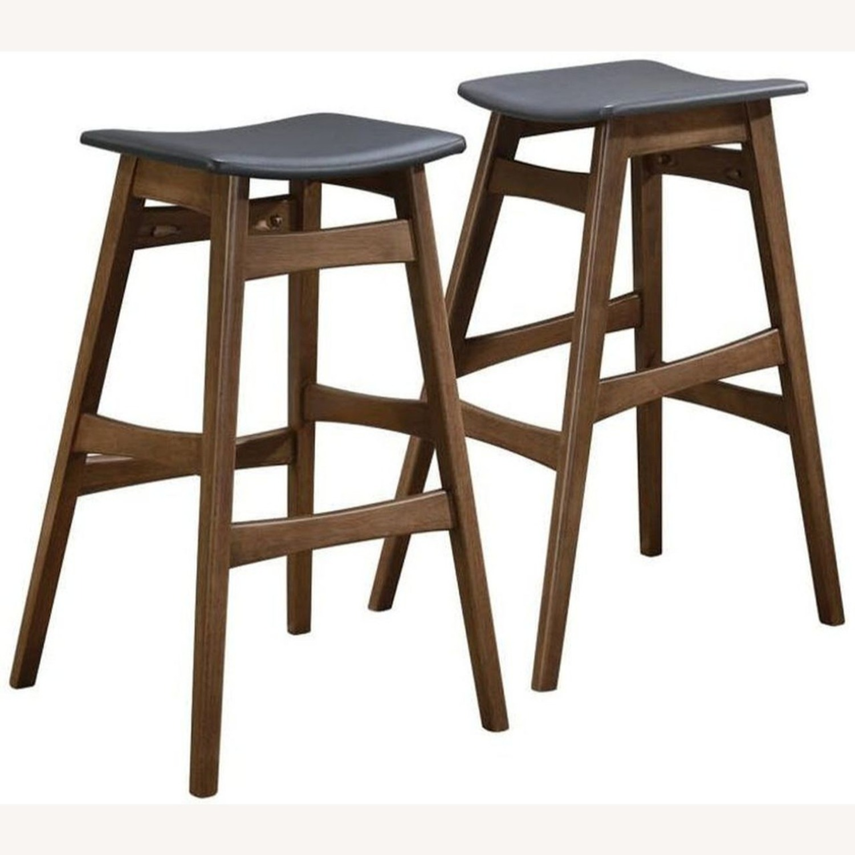 3-Piece Mid-Century Style Bar Table/Stool Set - image-3