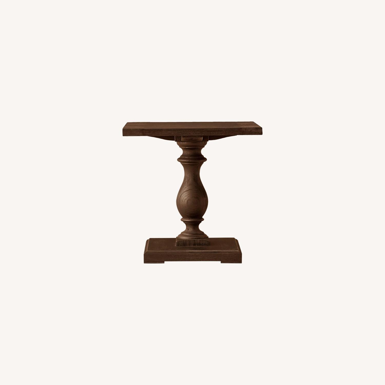 Restoration Hardware Pair of 17th C Monastery Side Tables - image-0