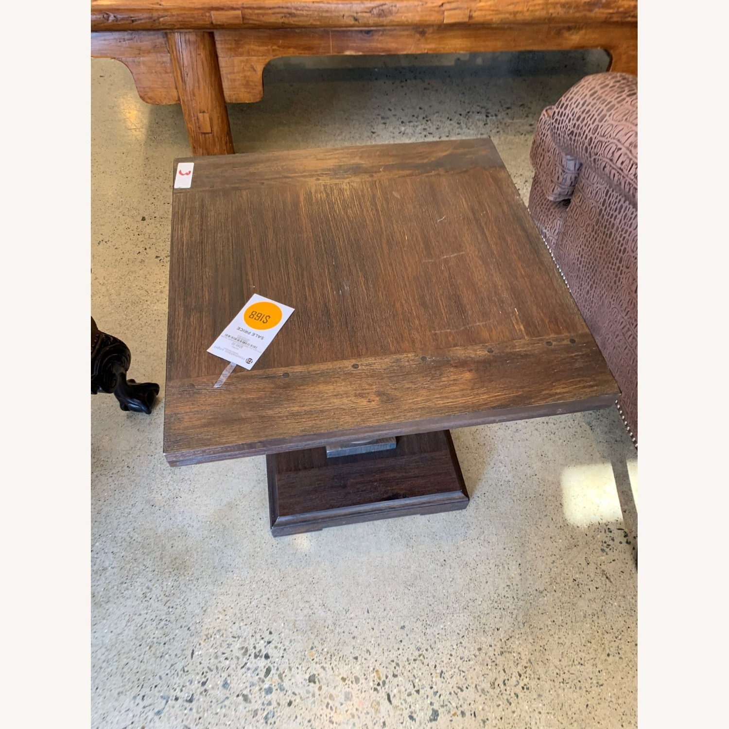 Restoration Hardware Pair of 17th C Monastery Side Tables - image-5