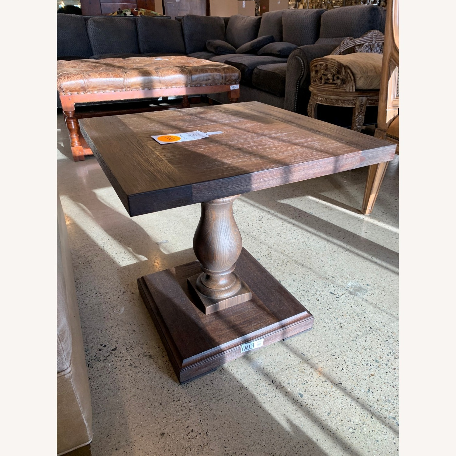 Restoration Hardware Pair of 17th C Monastery Side Tables - image-3