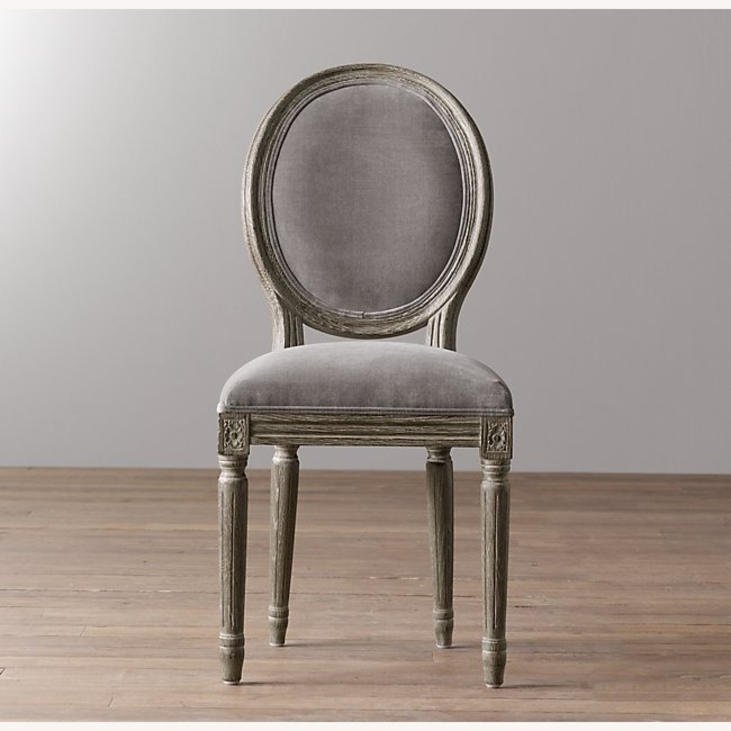 Restoration Hardware Mini Vintage French Upholstered Chair - image-5