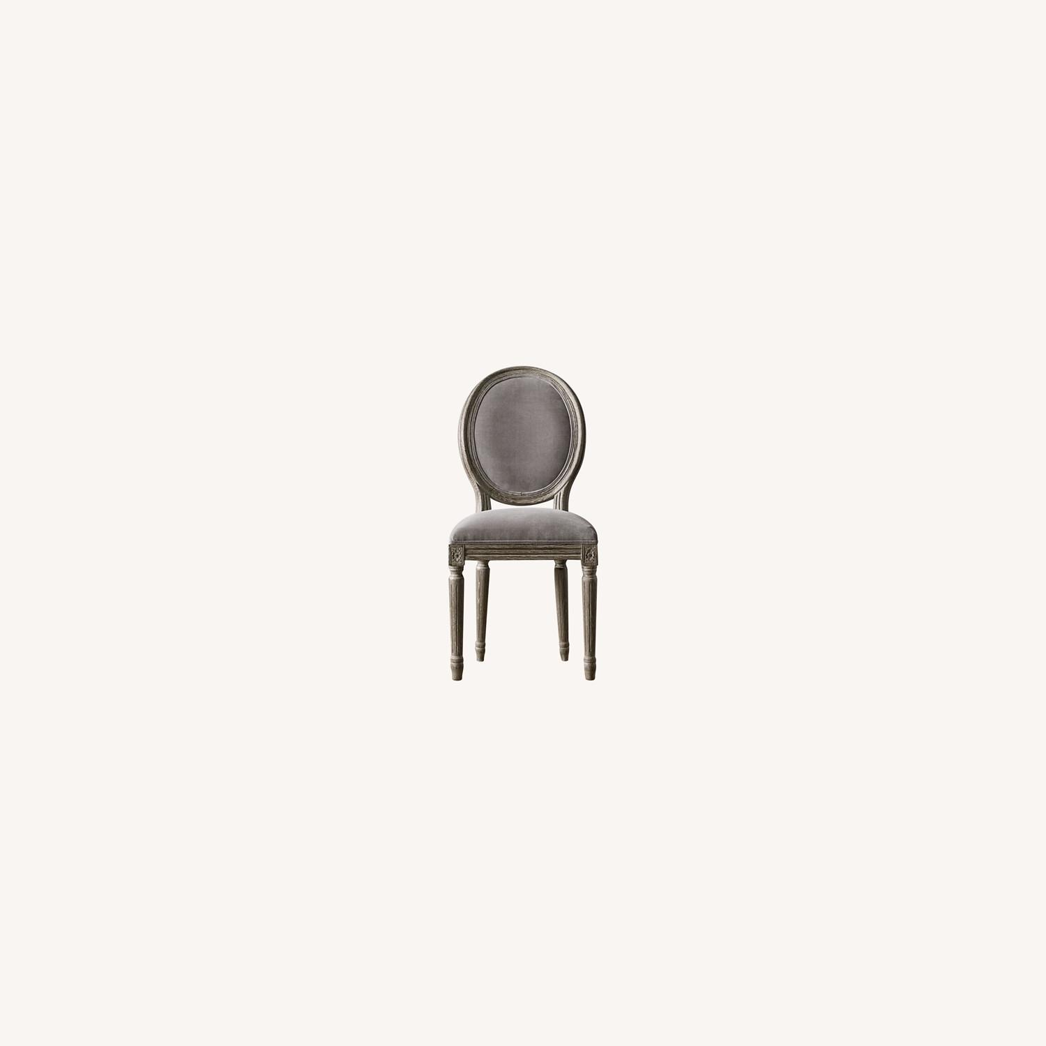 Restoration Hardware Mini Vintage French Upholstered Chair - image-0