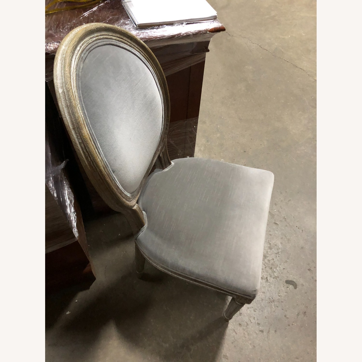Restoration Hardware Mini Vintage French Upholstered Chair - image-2