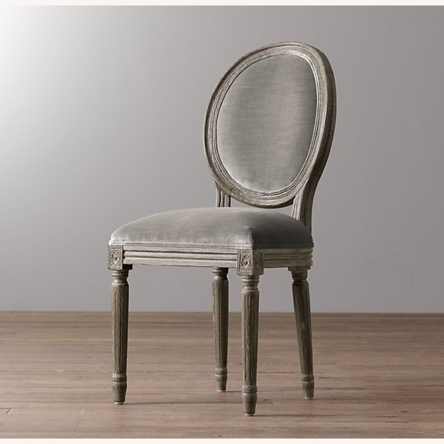 Restoration Hardware Mini Vintage French Upholstered Chair - image-4
