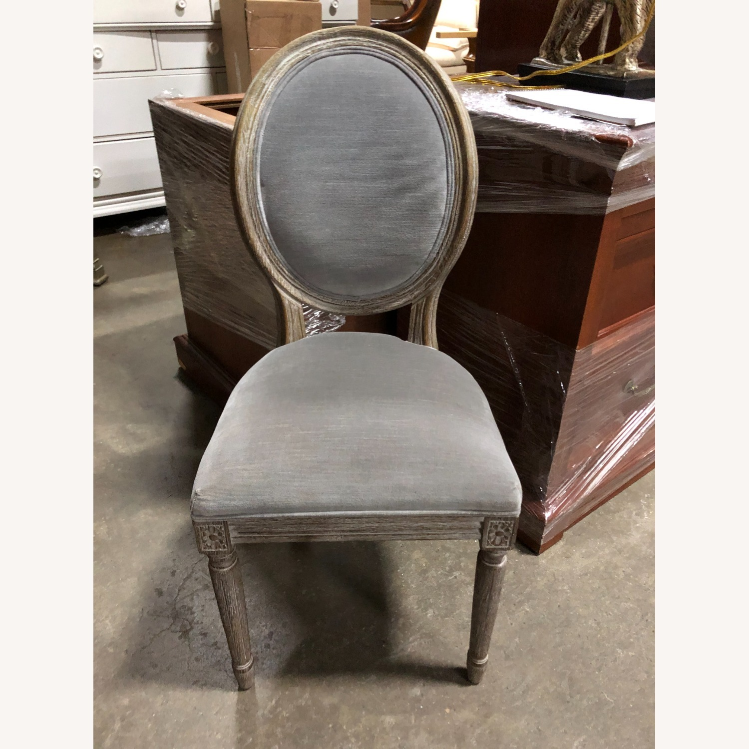 Restoration Hardware Mini Vintage French Upholstered Chair - image-1