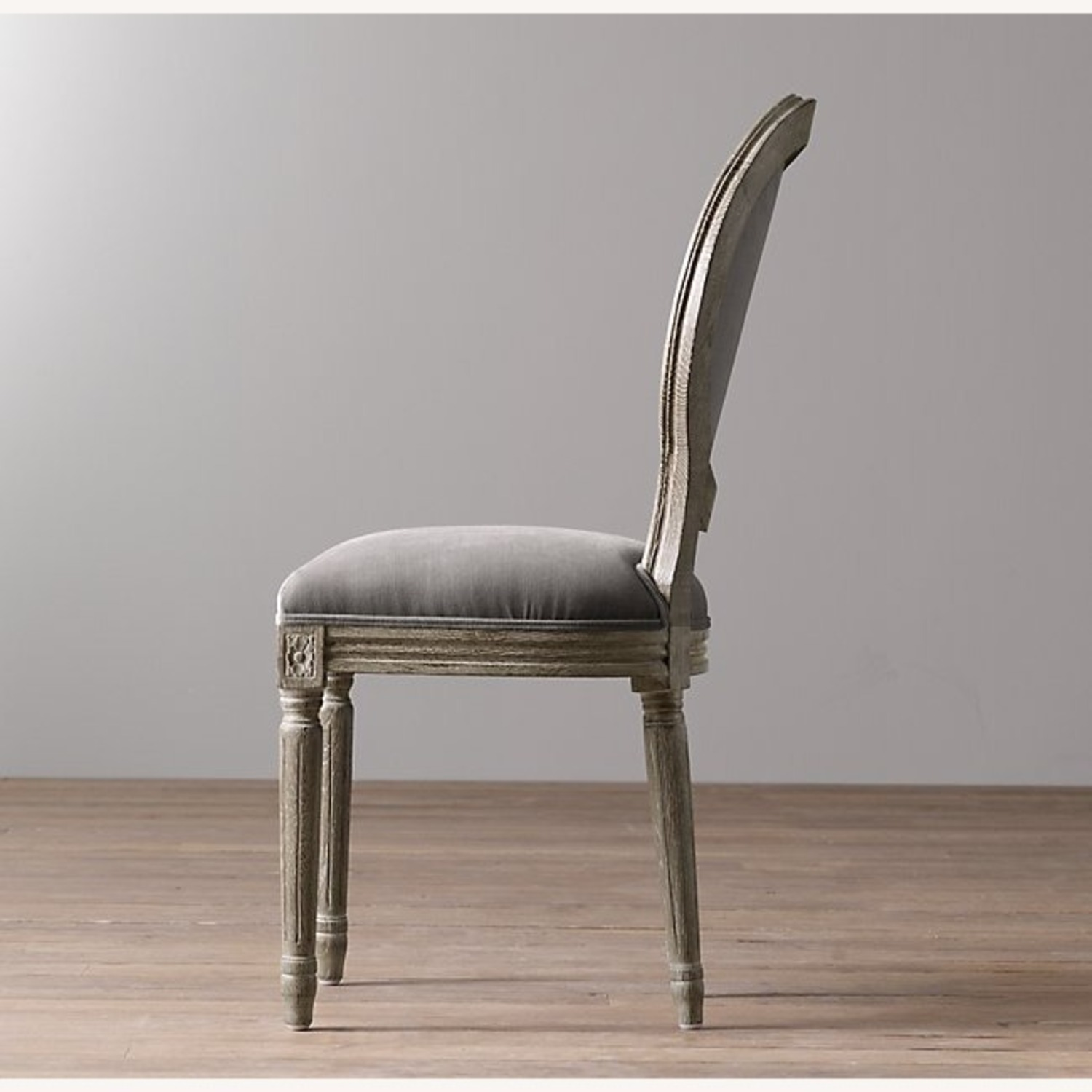 Restoration Hardware Mini Vintage French Upholstered Chair - image-6