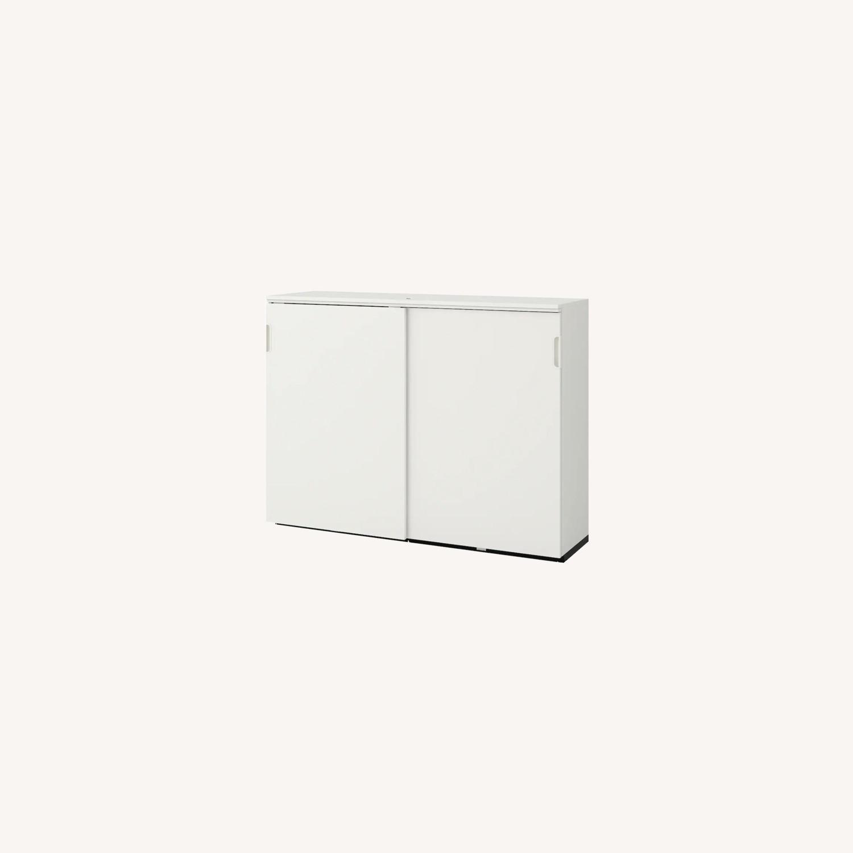 IKEA GALANT Cabinet with Sliding Doors - image-0