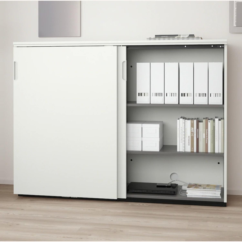 IKEA GALANT Cabinet with Sliding Doors - image-4