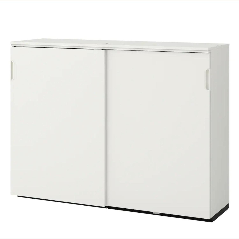 IKEA GALANT Cabinet with Sliding Doors - image-3