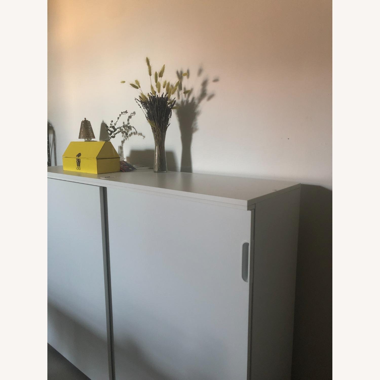 IKEA GALANT Cabinet with Sliding Doors - image-2
