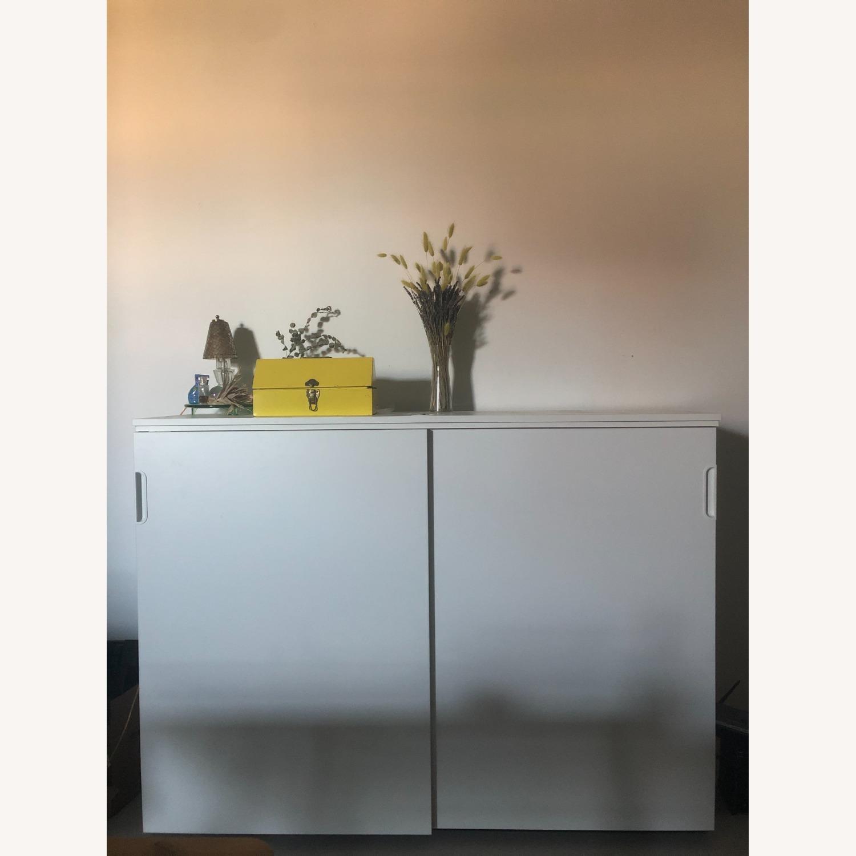 IKEA GALANT Cabinet with Sliding Doors - image-1