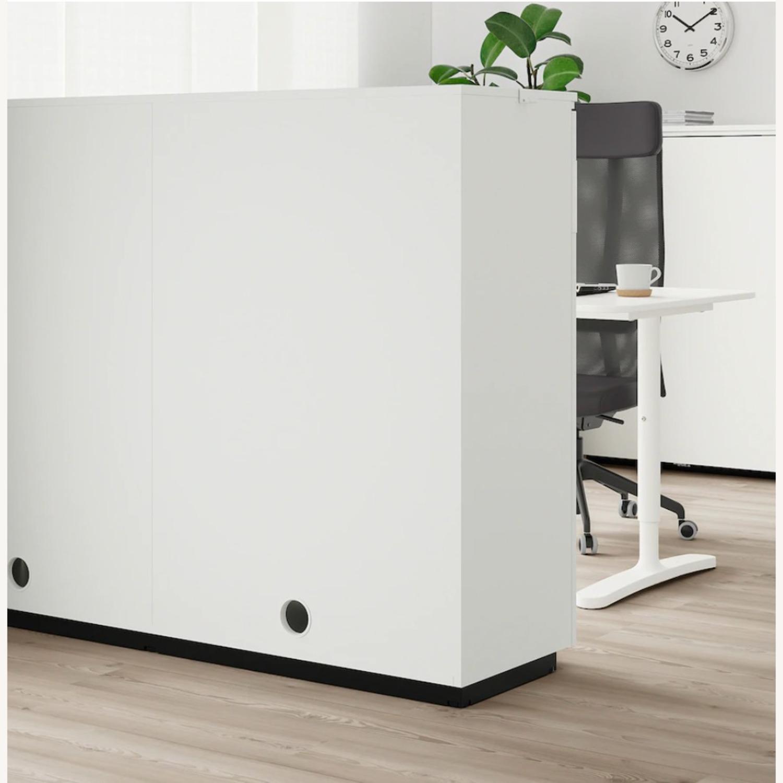 IKEA GALANT Cabinet with Sliding Doors - image-6
