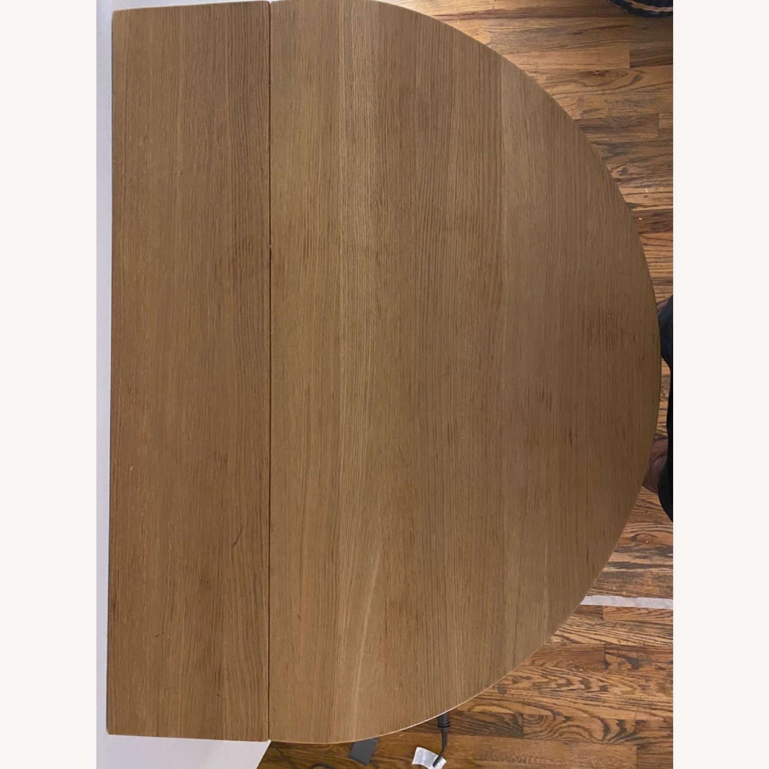Solid Oak Wall Mounted Drop Leaf Table - image-4