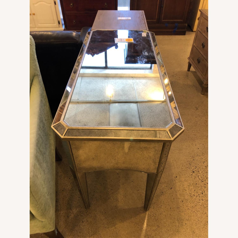 Restoration Hardware Ava Mirrored Vanity/Desk - image-3