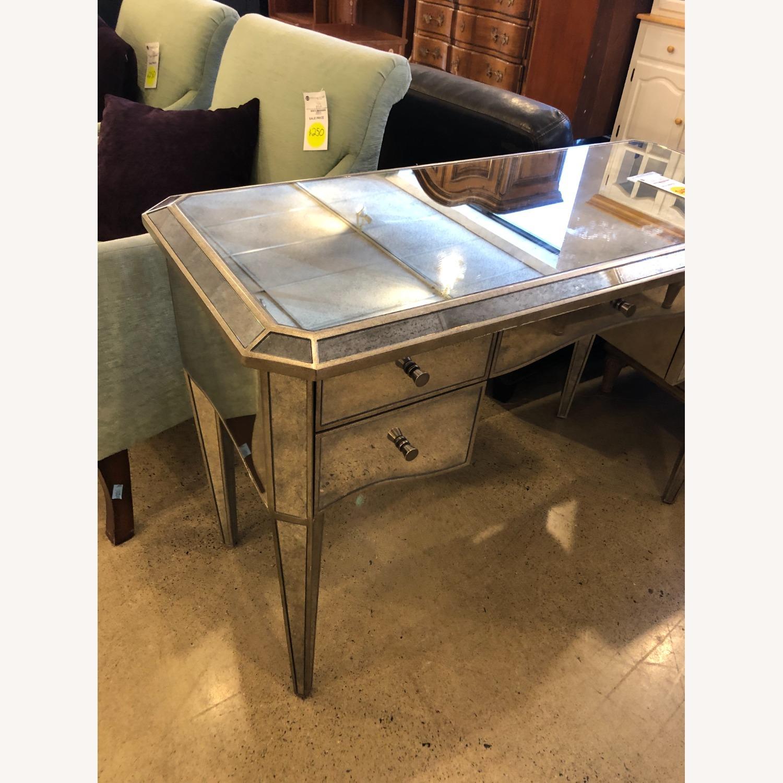 Restoration Hardware Ava Mirrored Vanity/Desk - image-7