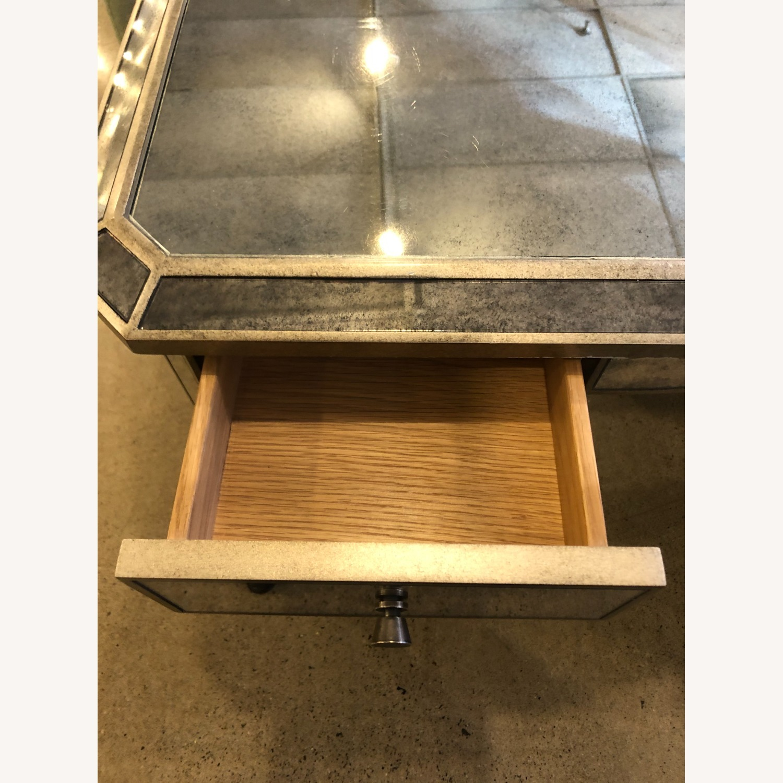 Restoration Hardware Ava Mirrored Vanity/Desk - image-4