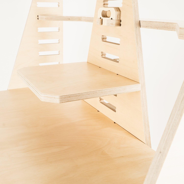 WFH Desk & Monitor Stand - Blonde - image-5