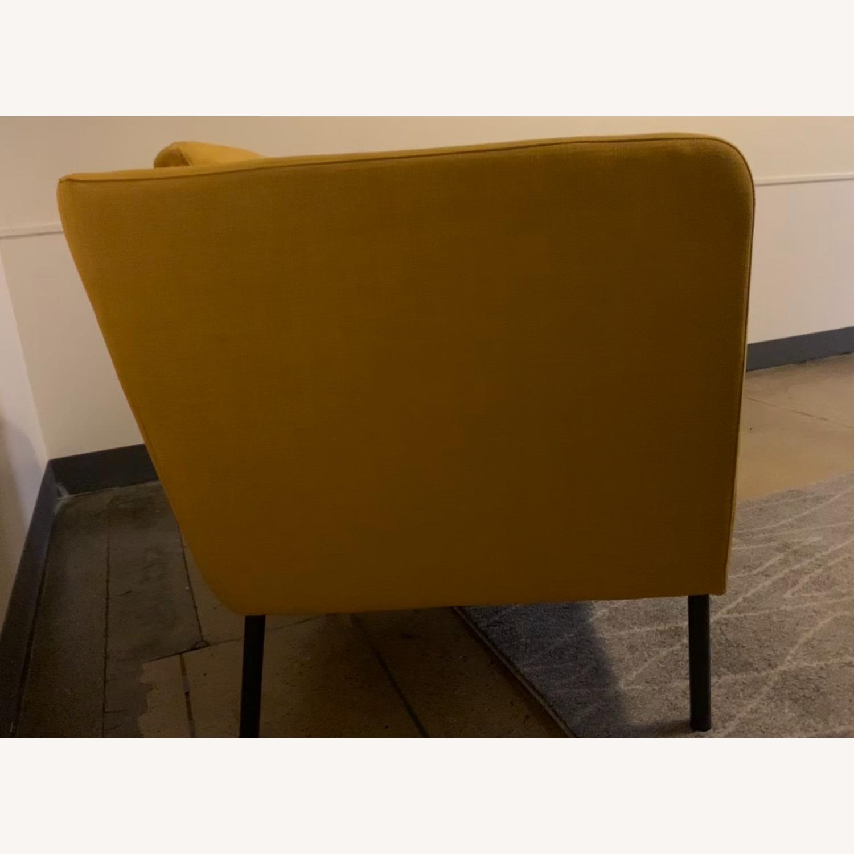 IKEA Cozy Yellow Armchair - image-3