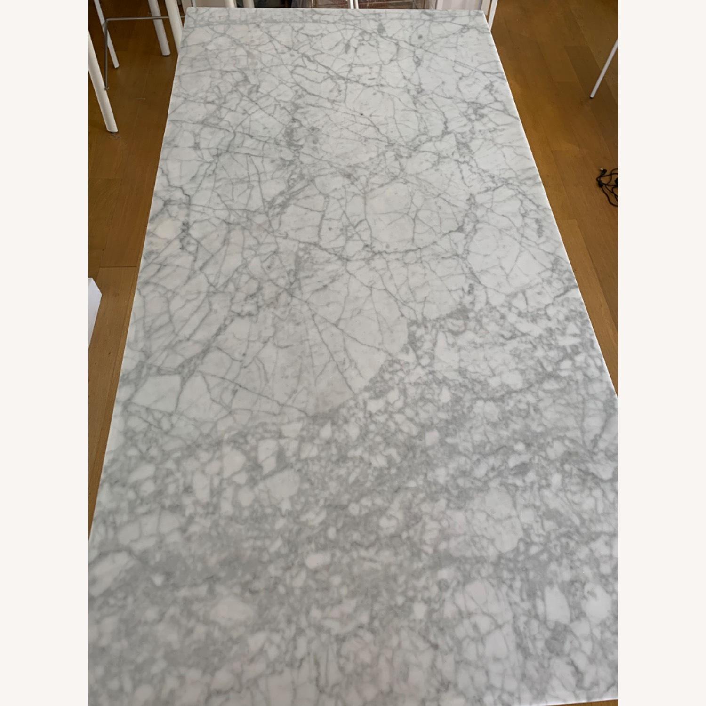 West Elm Marble Island Table - image-4