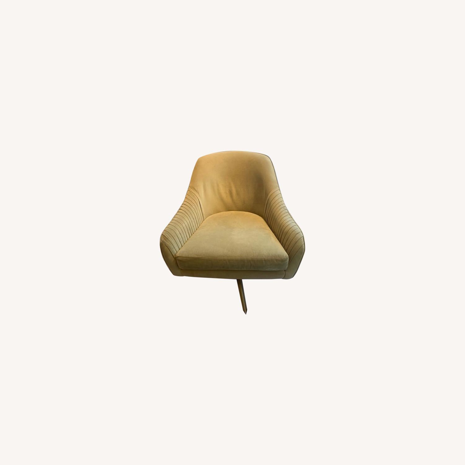West Elm Swivel Chairs - image-0