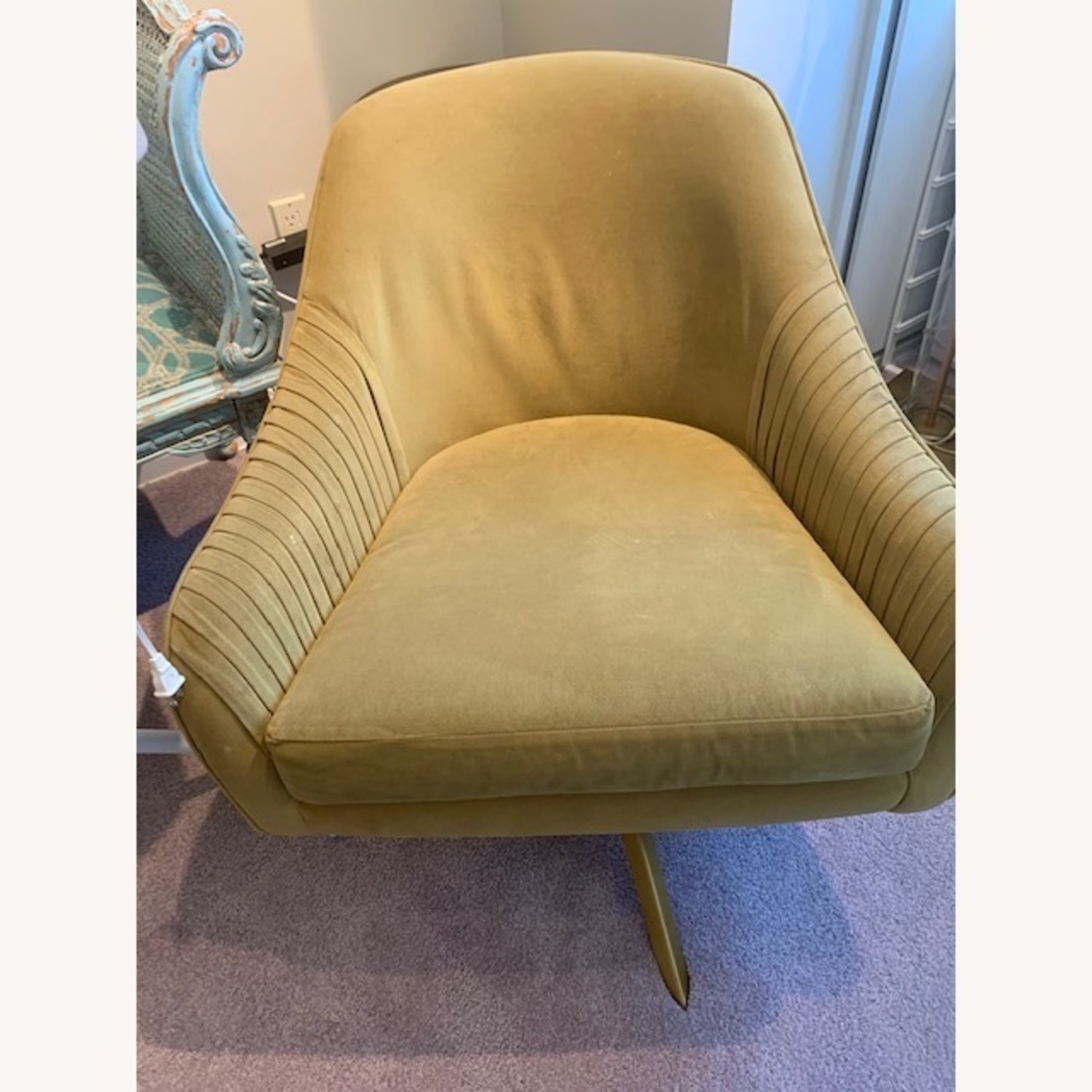 West Elm Swivel Chairs - image-2