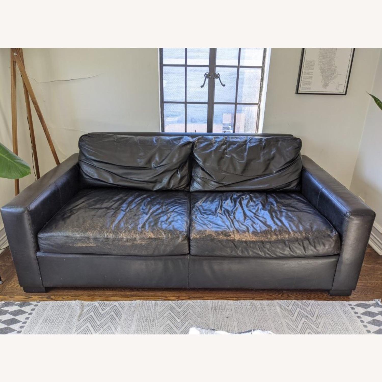 Restoration Hardware Maxwell Sleeper Sofa - image-0