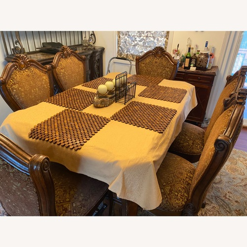 Used AICO/AMINI Counter Height Formal Dining Set for sale on AptDeco