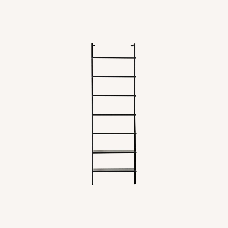 CB2 Modern Black Tall Bookshef - image-0