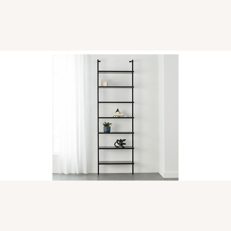 CB2 Modern Black Tall Bookshef - image-2