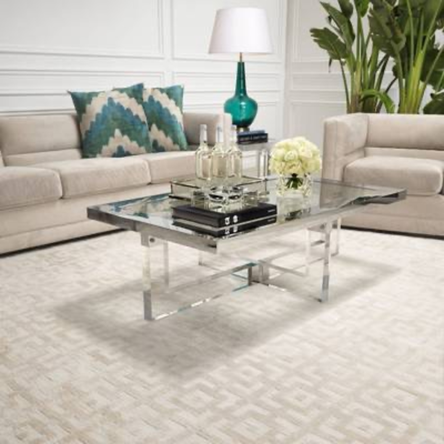 Eichholtz Reeves Carpet in Ivory - image-3