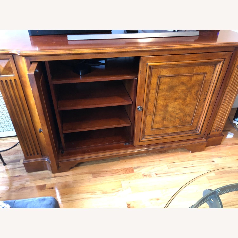 Ethan Allen Wood Media Cabinet - image-5