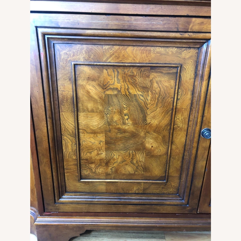 Ethan Allen Wood Media Cabinet - image-6