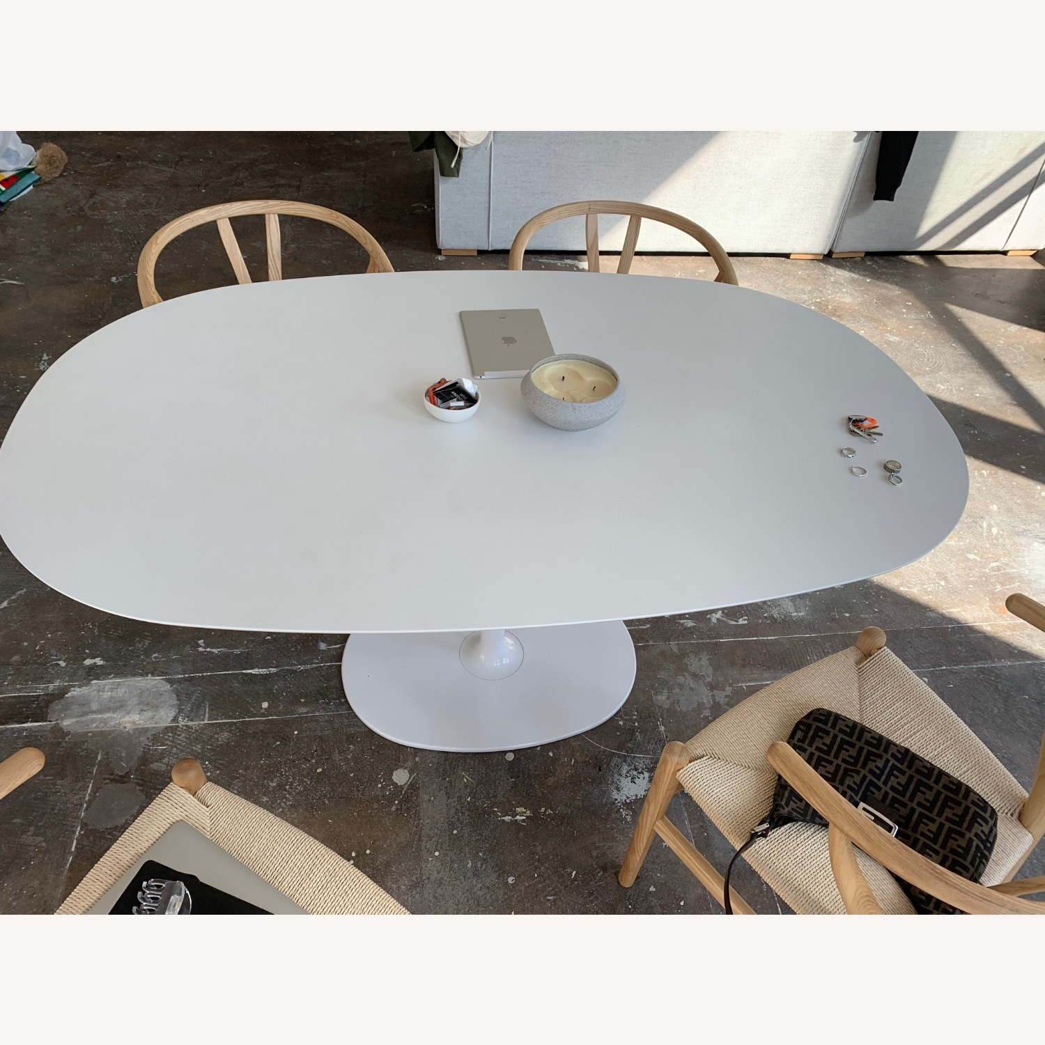 Design With In Reach Saarinen Dining Table - image-1