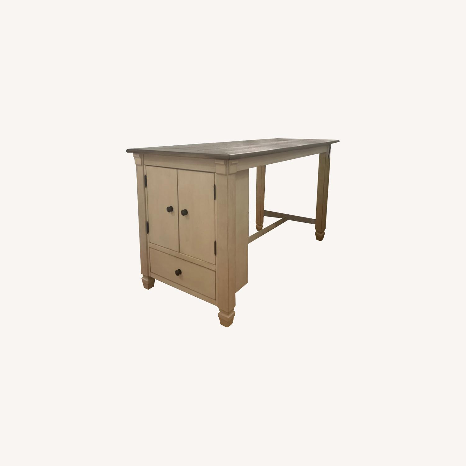 Ashley Furniture Counter Height Table with Storage - image-0