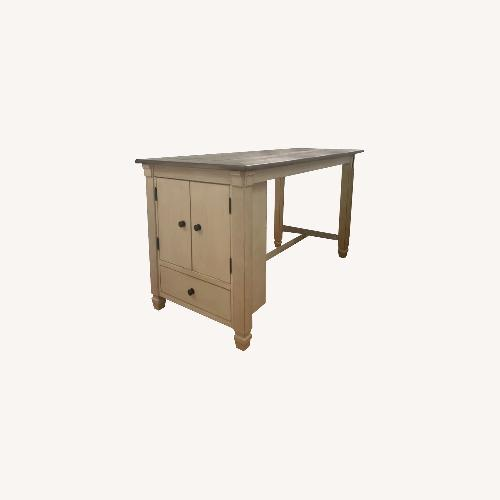 Used Ashley Furniture Counter Height Table with Storage for sale on AptDeco