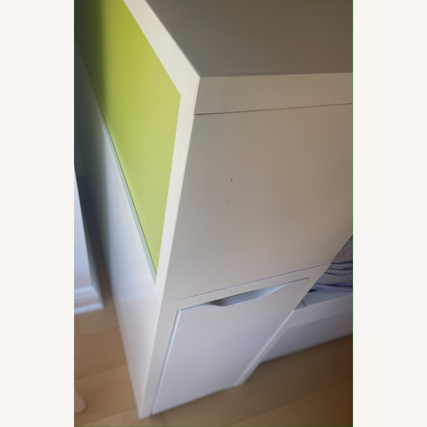 IKEA Twin Bed frame w/pull-out Bed + Storage - image-5