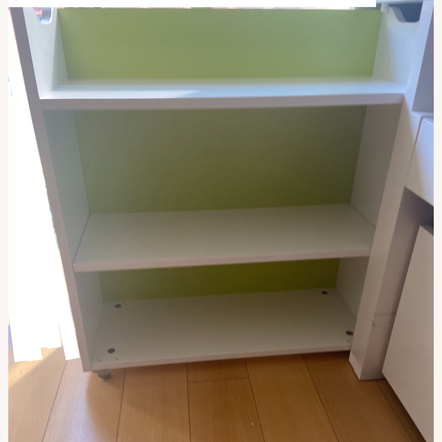 IKEA Twin Bed frame w/pull-out Bed + Storage - image-4