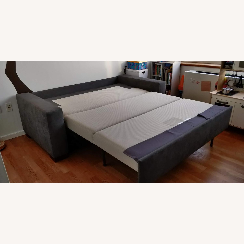 Macy's Queen Sleeper Sofa Bed - image-3