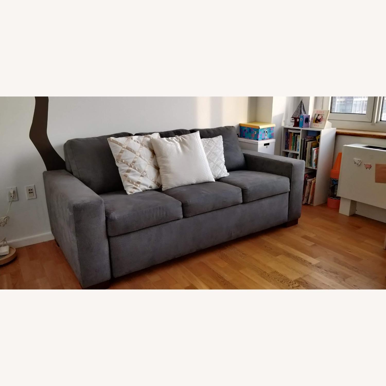 Macy's Queen Sleeper Sofa Bed - image-1