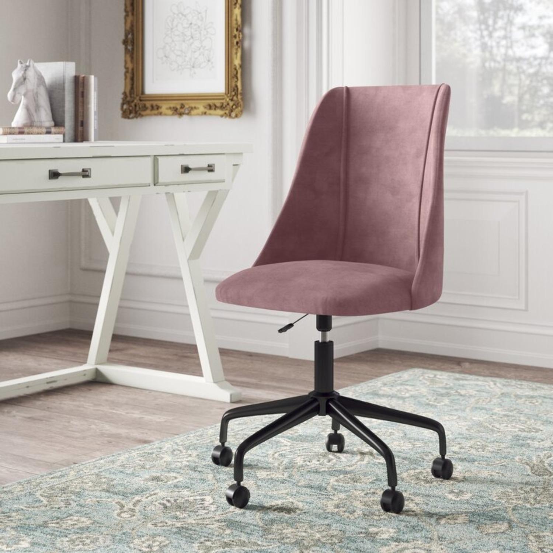 Wayfair NWIB Rochelle Task Chair in Rose - image-2