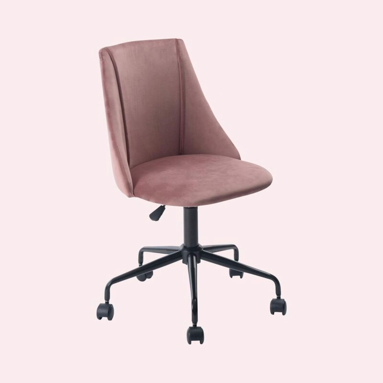 Wayfair NWIB Rochelle Task Chair in Rose - image-1