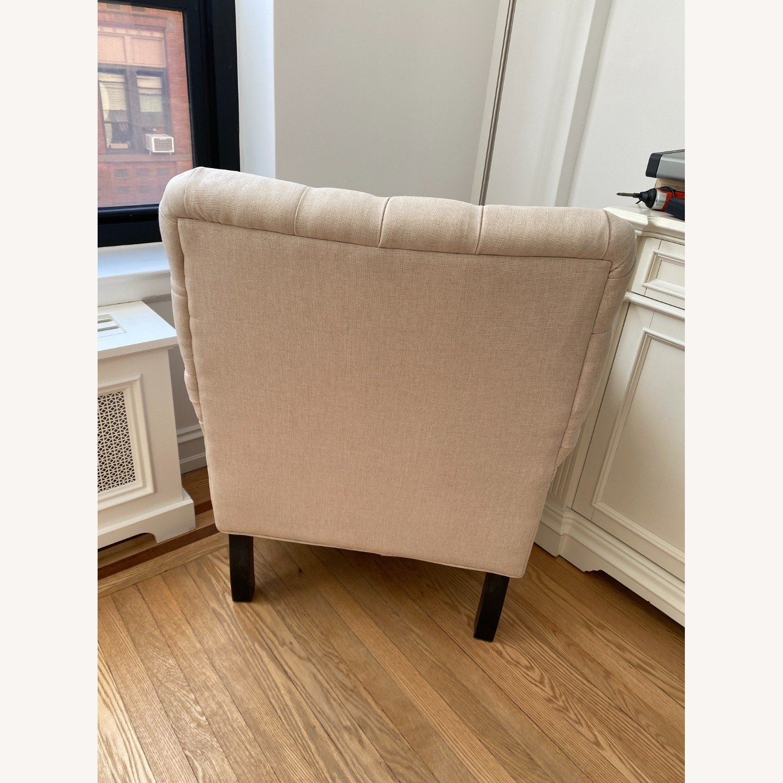 Lark Interiors Joussard Beige Linen Club Chairs - image-4