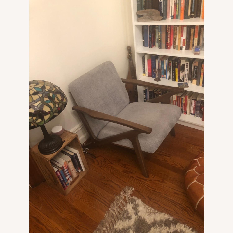 AllModern Mid-Century Modern Lounge Chair - image-6