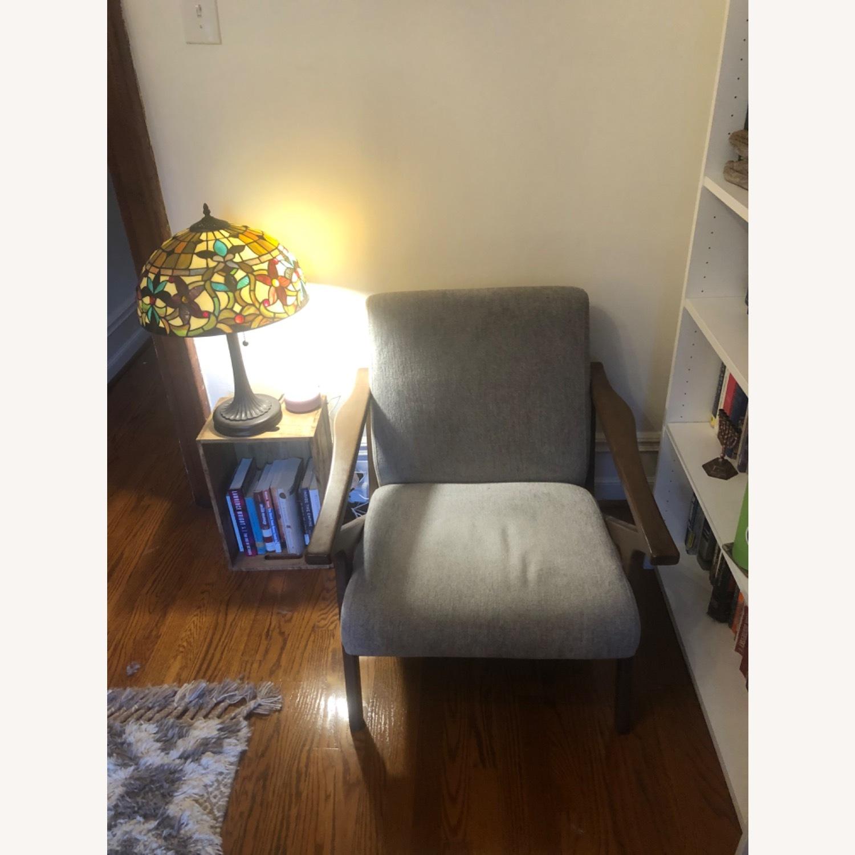 AllModern Mid-Century Modern Lounge Chair - image-1