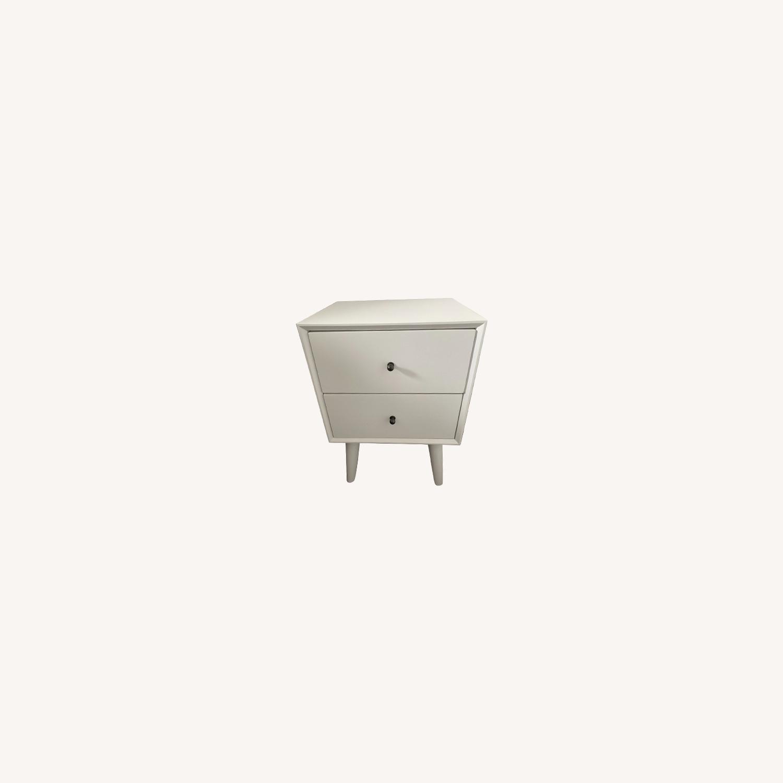 Wayfair White Wood Nightstand Set - image-0