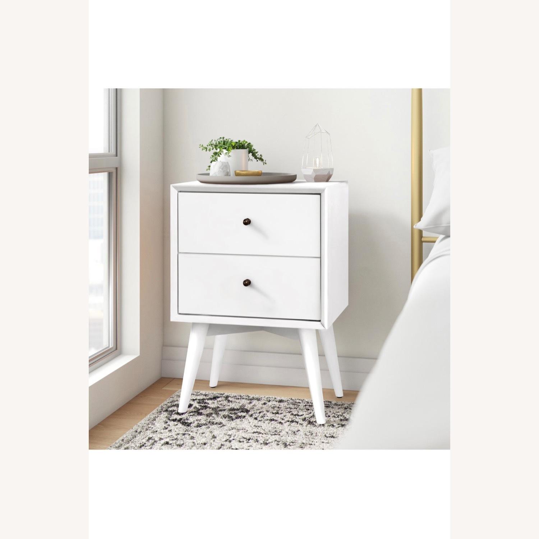 Wayfair White Wood Nightstand Set - image-2