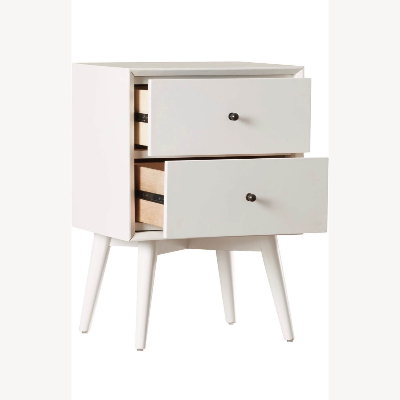 Wayfair White Wood Nightstand Set - image-1